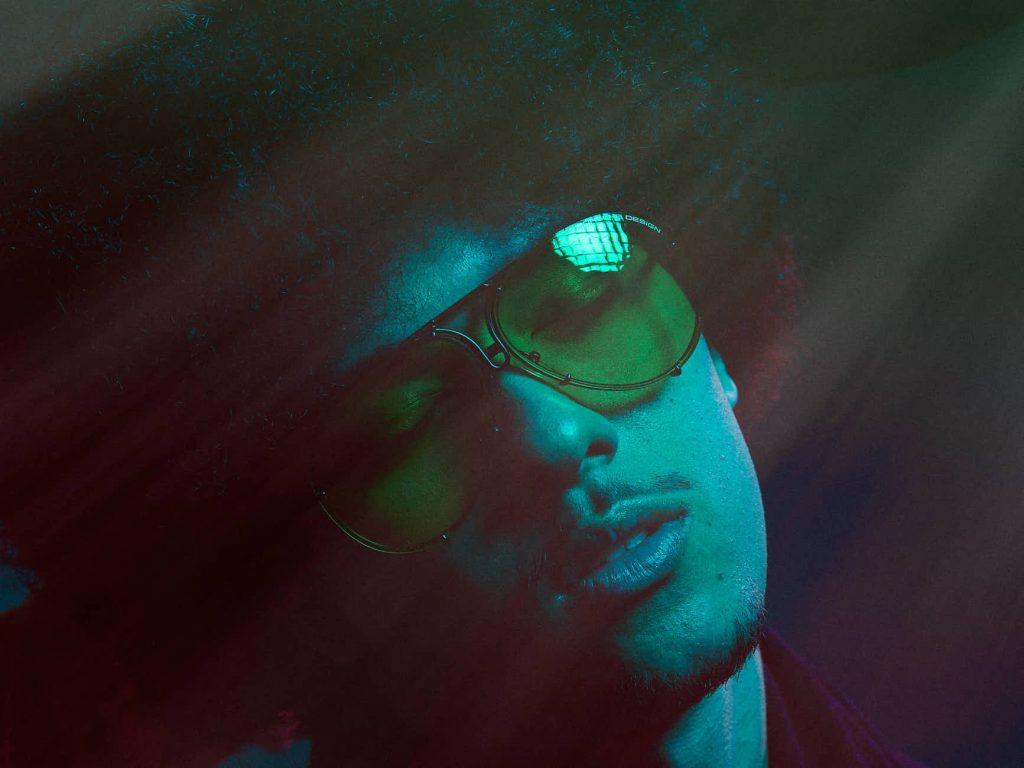 Coloured Gel Portrait Photography