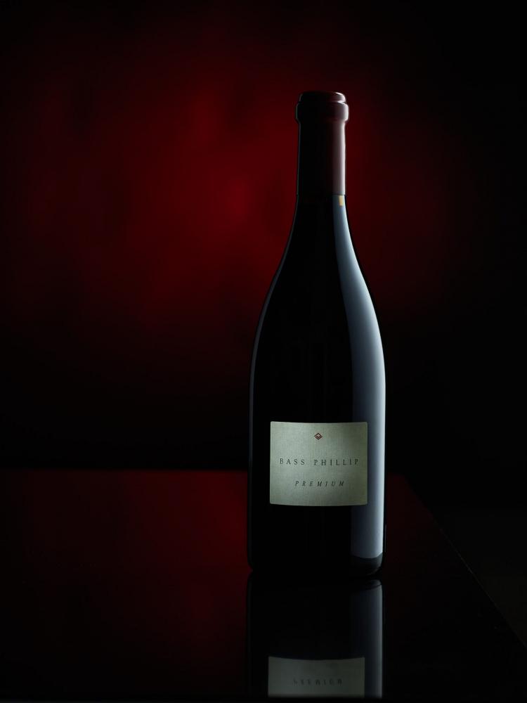 Wine Photography-WIne Bottle-Bass Phillip Premium-Pinot Noir-Bass Phillip Wines