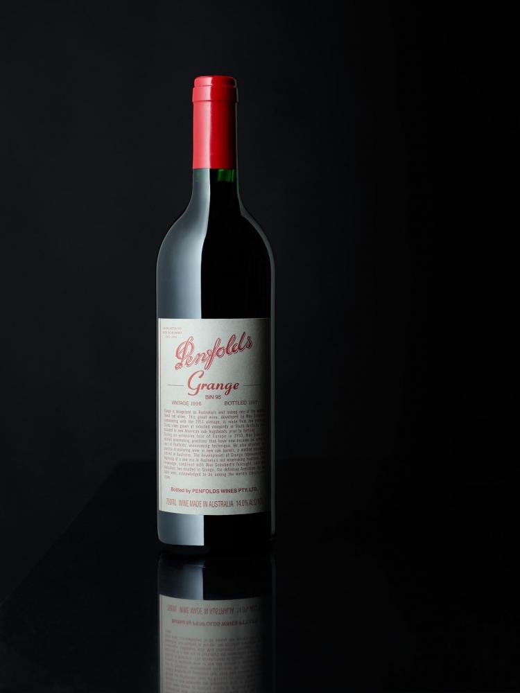 Penfolds Grange-Grange-Penfolds Grange 1996-BIN 95-Wine Photographer